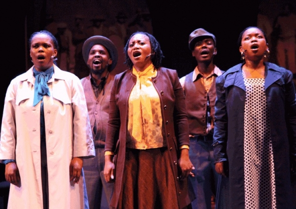 Photo Flash: First Look at SONGS OF MIRGRATION at the Kennedy Center