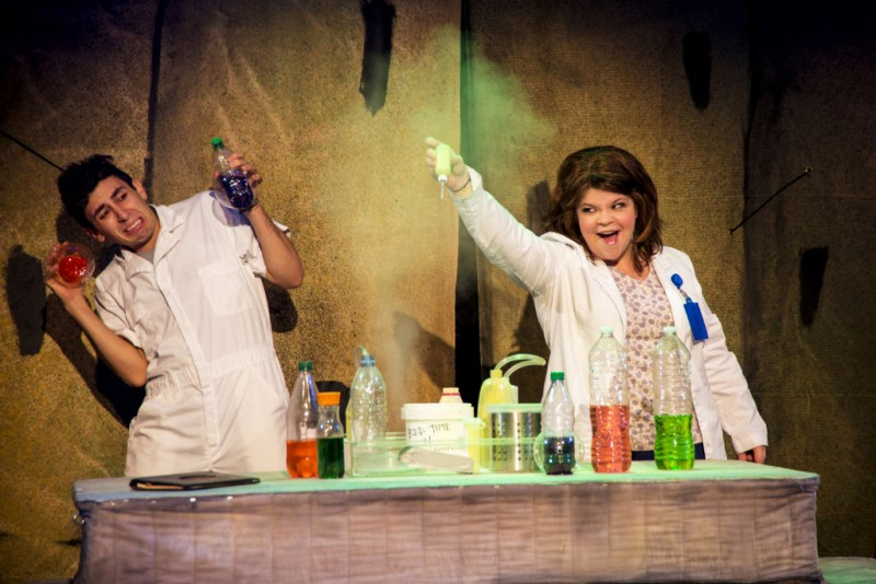 Photo Flash: First Look at Marissa Rosen, Larry Daggett and More in BEDBUGS!!! at the ATA Chernuchin Theatre