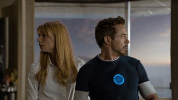 Robert Downey Jr., Gwyneth Paltrow at Robert Downey Jr., Gwyneth Paltrow in New Photos from IRON MAN 3!