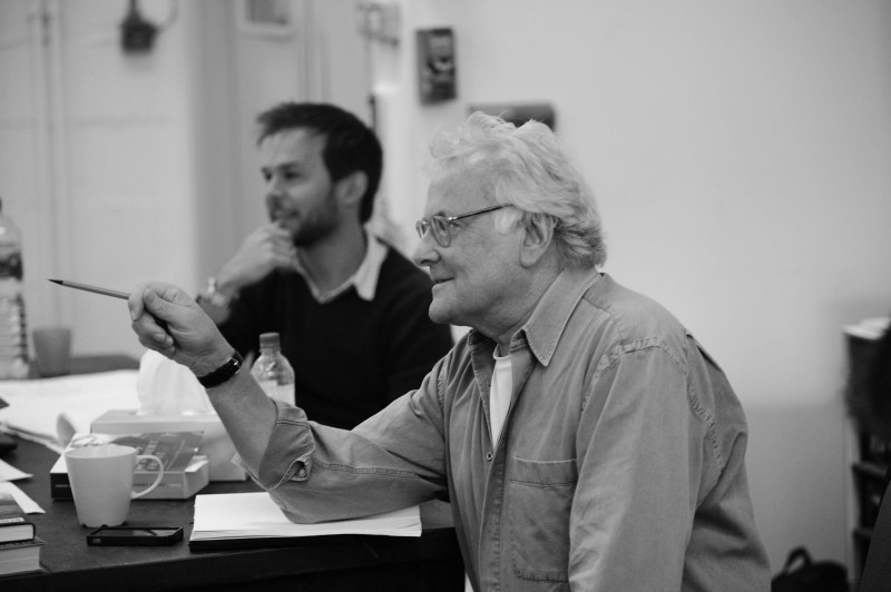 Photo Flash: First Look at Richard Eyre in THE DARK EARTH AND THE LIGHT SKY