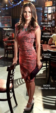 Photo Flash: The CW's HART OF DIXIE Sports Designer Fashions