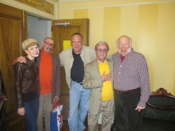 Alyssa Gagarin (left), James McDonald, Ron Wisniski (center), Robert Gerlach, and Peter Van Wagner (right)