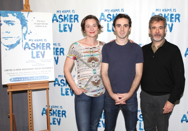FREEZE FRAME: MY NAME IS ASHER LEV Cast Meets the Press