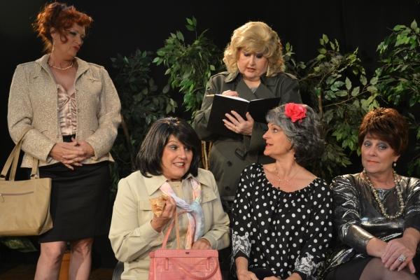Mary Lou Roschbach, Sandi Morgan, Carolyn Montgomery, Cheryl Tanner, Lisa Schofield