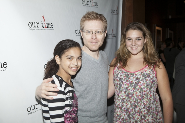 Anthony Rapp and the 'Our Time' kids