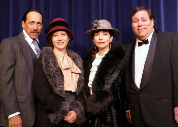 Michael Allen, Genevieve Levin, Maria Pavone, Greg Abbott