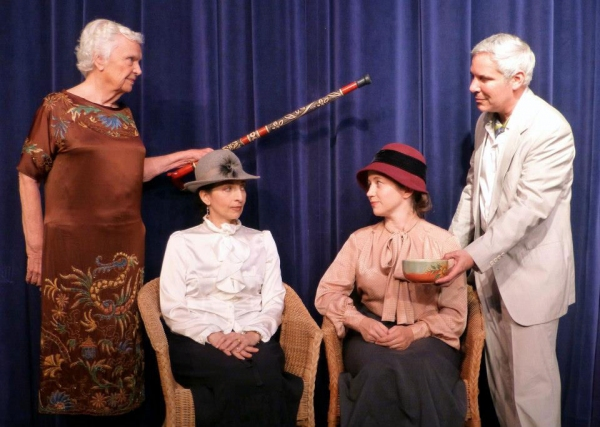 Photo Flash: Sneak Peek at Greg Abbott, Michael Allen and More in Theatre Palisades' ENCHANTED APRIL
