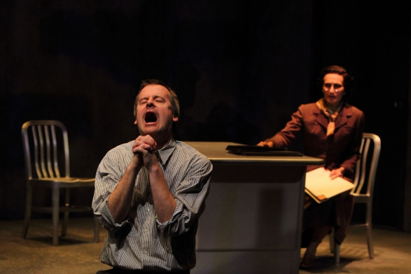 Photo Flash: Sneak Peek at Bradford Cover and Dee Pelletier in UNDER A RED MOON