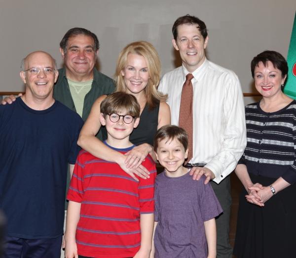 Eddie Korbich, Dan Lauria, Erin Dilly, Johnny Rabe, John Bolton, Zac Ballard and Caro Photo
