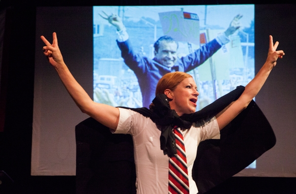 Photo Flash: First Look at Michelle Moore, Mark Collins and More in 44 PLAYS FOR 44 PRESIDENTS