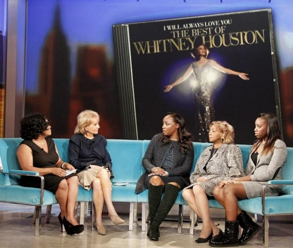 SHERRI SHEPHERD, BARBARA WALTERS, PAT HOUSTON, CISSY HOUSTON, RAYAH HOUSTON