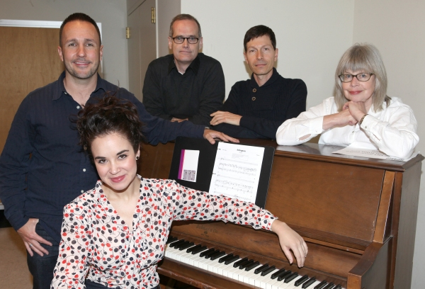 Alexandra Silber with Kenneth Gartman, Jack Cummings III, Victor Lodato and Polly Pen Photo