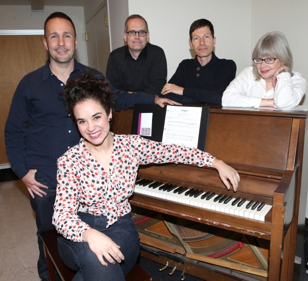 Alexandra Siber with Kenneth Gartman, Jack Cummings III, Victor Lodato and Polly Pen