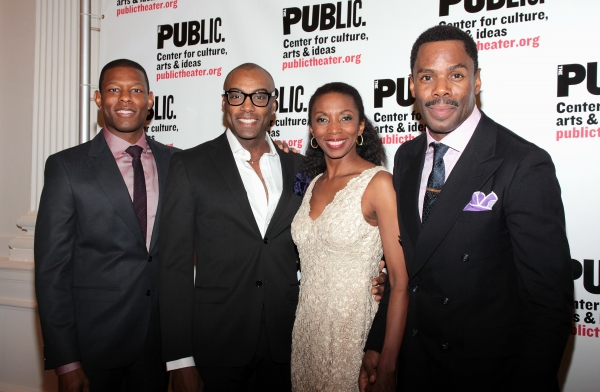 Korey Jackson, Maurice McRae, Sharon Washington, Colman Domingo