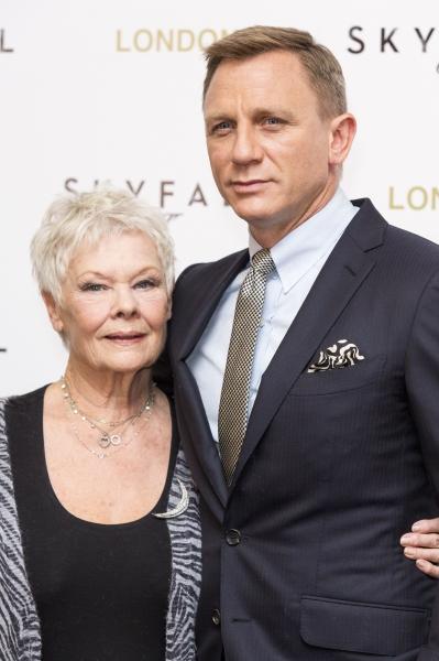 Judi Dench,Daniel Craig at London Royal World Premiere of SKYFALL