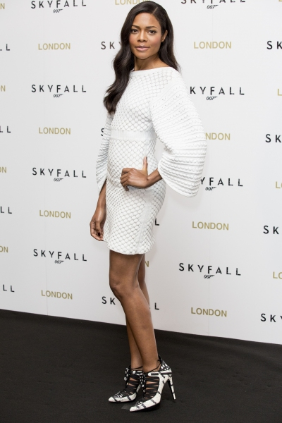 Naomie Harris at London Royal World Premiere of SKYFALL