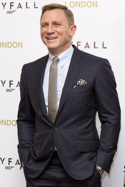 Daniel Craig at London Royal World Premiere of SKYFALL