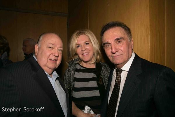 Roger Ailes & Tony Lo Bianco Photo