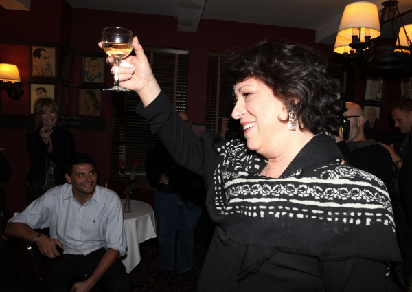 Photo Coverage: Manhattan Theatre Club Artistic Director Lynne Meadow Receives Sardi's Caricature