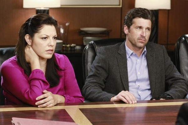 SARA RAMIREZ, PATRICK DEMPSEY   at GREY'S ANATOMY's Upcoming Episode 'Second Opinion,' Airs 11/15