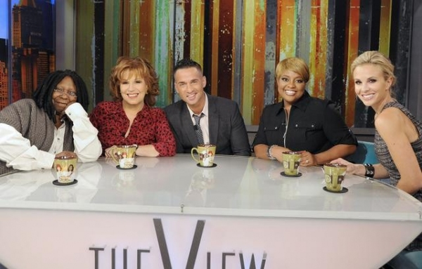 WHOOPI GOLDBERG, JOY BEHAR, MIKE SORRENTINO, SHERRI SHEPHERD, ELISABETH HASSELBECK