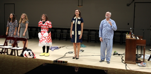 Curtain Call: Merritt Janson, Lisa Joyce, Rob Campbell, Christina Rouner & Michael Ru Photo