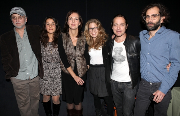Michael Rudko, Merritt Janson, Christina Rouner, Lisa Joyce, Rob Campbell and Director Daniel Fish