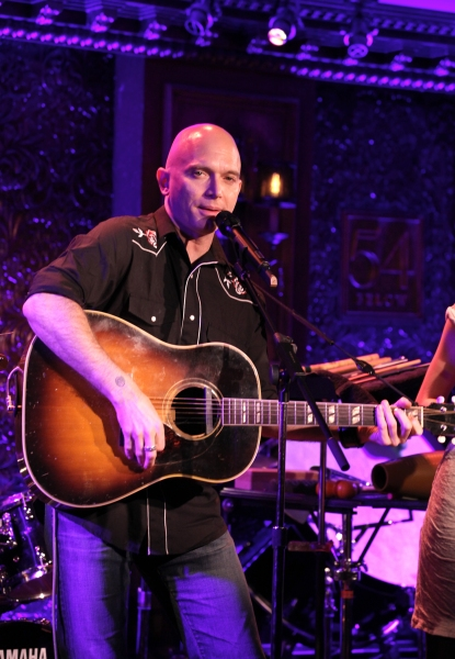 Photo Coverage: Michael Cerveris & Loose Cattle Give 54 Below Preview!