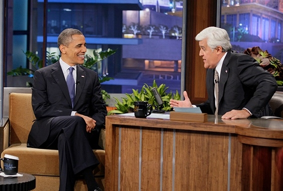 Photo Flash: President Barack Obama Visits JAY LENO