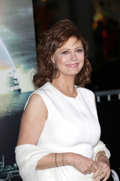 Susan Sarandon at Hanks, Sarandon & More at CLOUD ATLAS Premiere