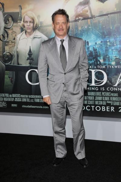 Tom Hanks at Hanks, Sarandon & More at CLOUD ATLAS Premiere