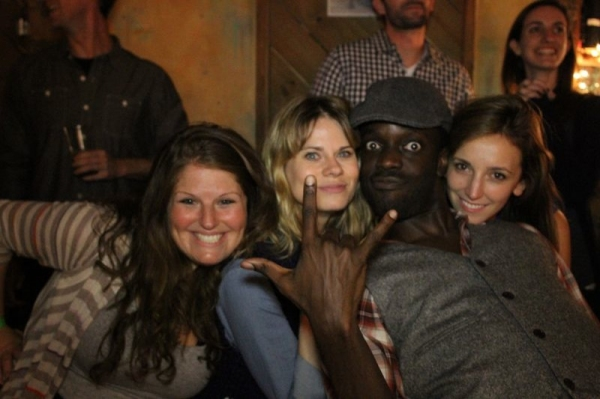 Erica Rotstein, Celia Keenan-Bolger, Eto Essandoh and Adrienne Campbell-Holt