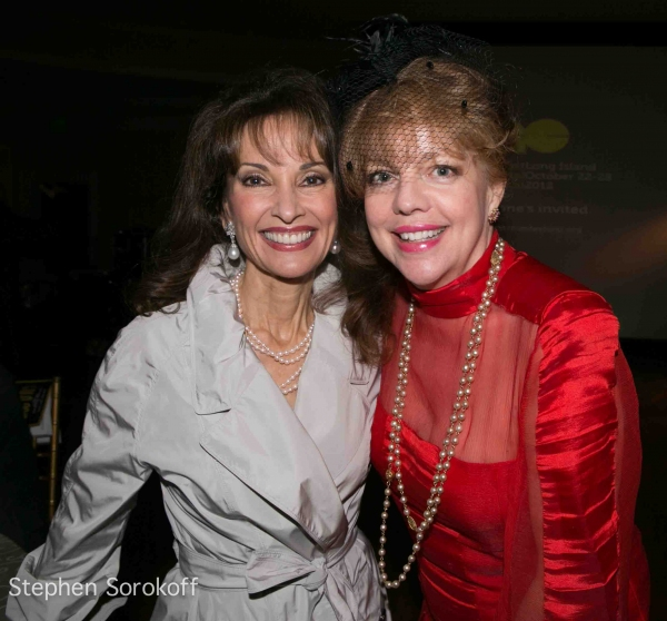 Susan Lucci & KT Sullivan at Inside the 2012 Great Neck Arts Center Gala