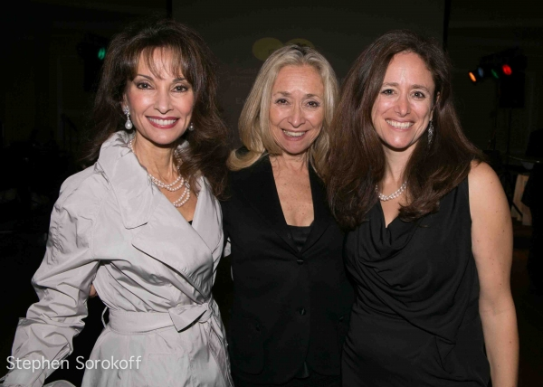 Susan Lucci, Eda Sorokoff, Caroline Sorokoff at Inside the 2012 Great Neck Arts Center Gala