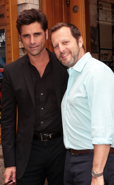 FREEZE FRAME: SOAP DISH's John Stamos & Rob Ashford