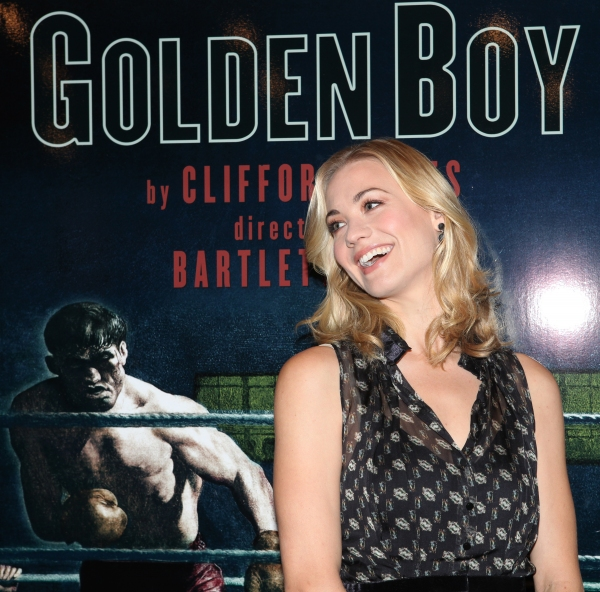 Photo Coverage: Cast of GOLDEN BOY Meets the Press!