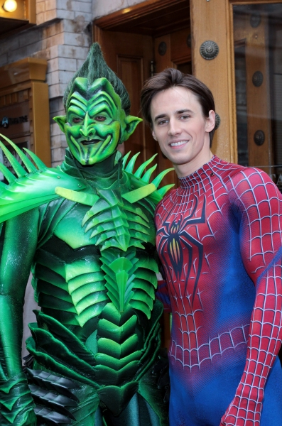 Photo Coverage: SPIDER-MAN Cast Prepares for Halloween!