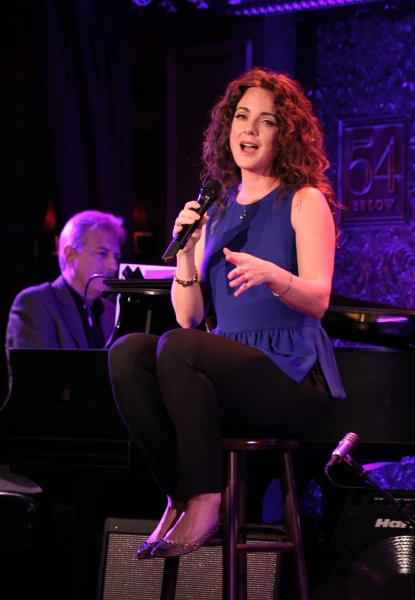Photo Coverage: Melissa Errico Previews  54 Below Show!