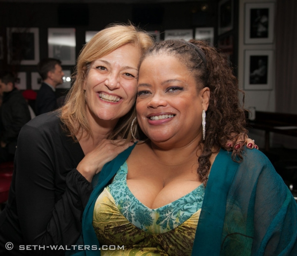 Karen Mason and Natalie Douglas at Natalie Douglas Plays Broadway at Birdland