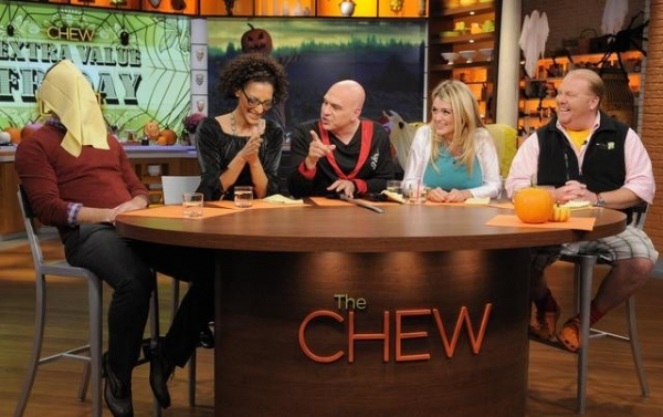 CLINTON KELLY, CARLA HALL, MICHAEL SYMON, DAPHNE OZ, MARIO BATALI