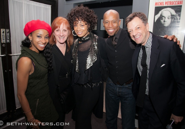Photo Flash: Rachel Potter, Allison Semmes and More at Jim Caruso's Cast Party at Birdland, 10/22