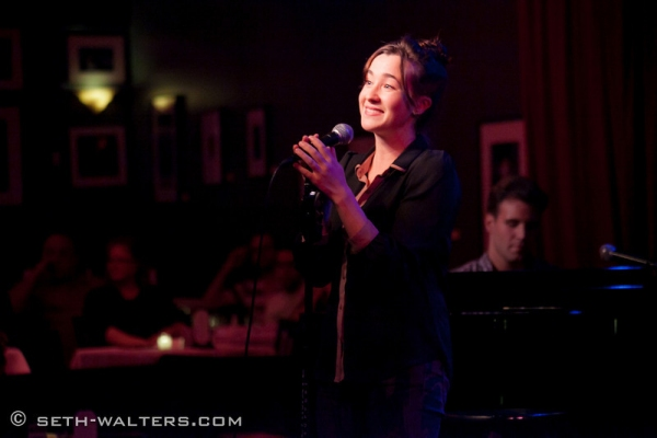 Photo Flash: Rachel Potter, Allison Semmes and More at Jim Caruso's Cast Party at Birdland, 10/22