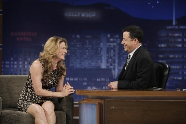 Photo Flash: Look Back at Ana Gasteyer on Last Night's JIMMY KIMMEL LIVE