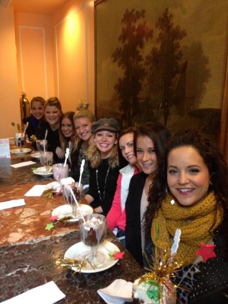 Danielle Carlacci, Ryann Redmond (Bridget), Elle McLemore (Eva), Brooklyn Freitag, Courtney Corbeille, Billie Sue Roe, Lauren Whitt and Janet Krupin