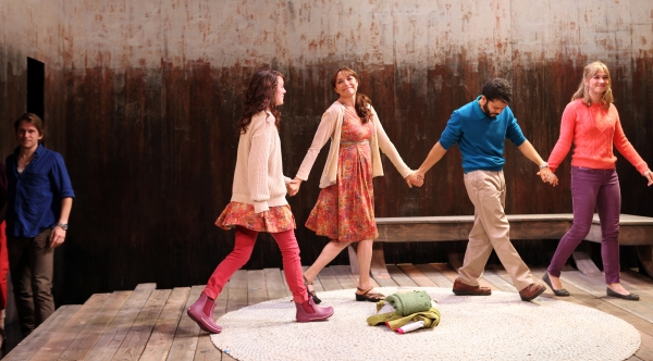 Curtain Call: McCaleb Burnett, Samantha Soule, Karen Allen, Carlo Alban and Maren Bush