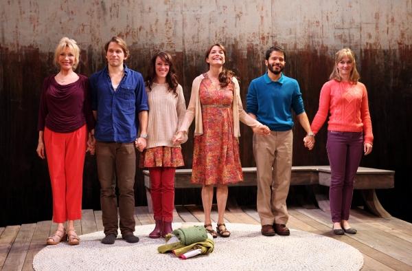 Curtain Call: Pamela Shaw, McCaleb Burnett, Samantha Soule, Karen Allen, Carlo Alban and Maren Bush
