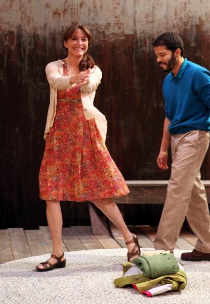 Curtain Call: Karen Allen & Carlo Alban