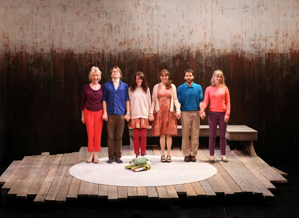 Curtain Call: Pamela Shaw, McCaleb Burnett, Samantha Soule, Karen Allen, Carlo Alban  Photo