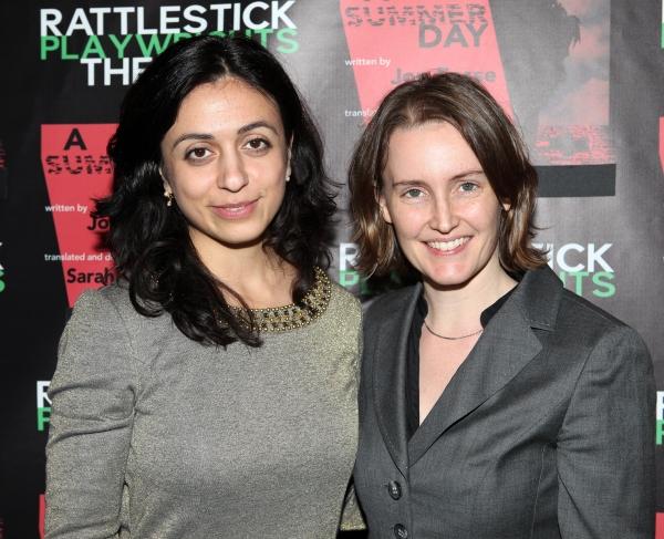 Hadia Yajik & Sarah Cameron Sunde  Photo