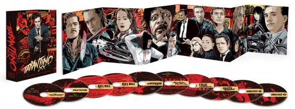 Photo Flash: Interior Artwork for TARANTINO XX: 8-FILM COLLECTION, Coming to Blu-ray 11/20